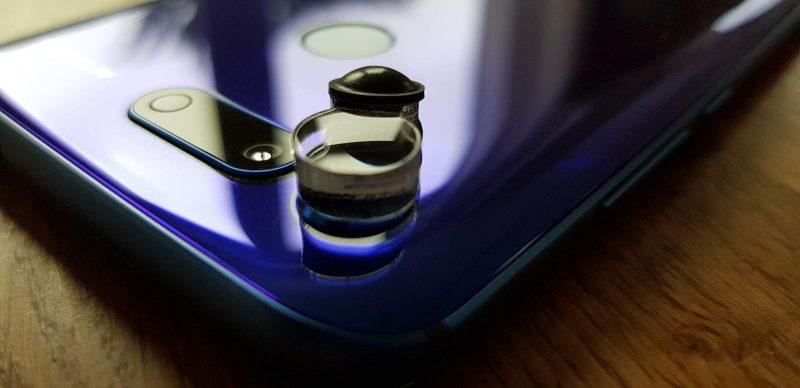 Lilscope basic 5-fach Linse auf Honor Handy